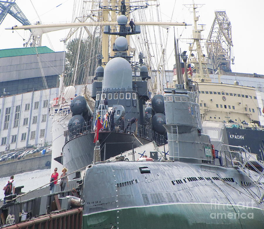 City Photograph - Military Port by Yury Bashkin