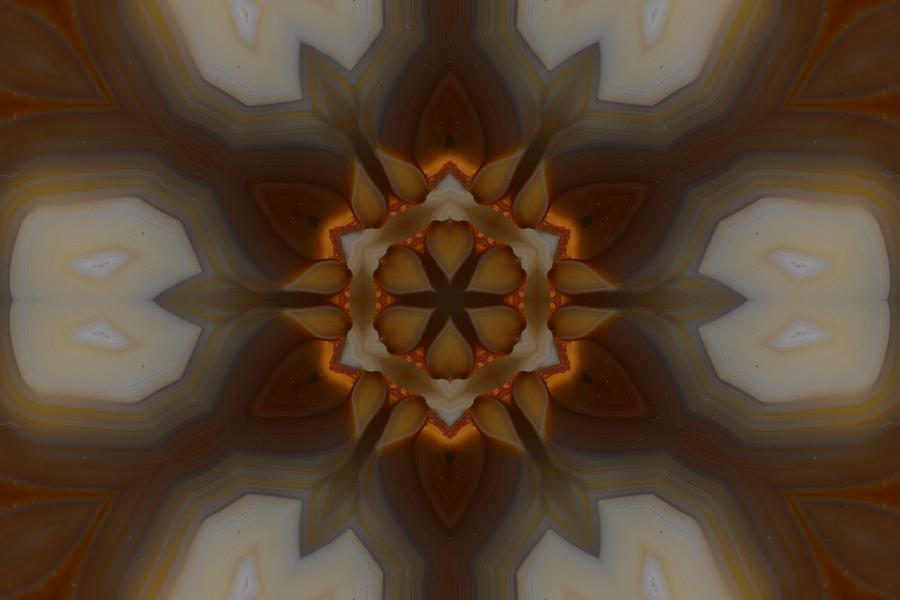 Orange Photograph - Milky Way by Chad Wasden