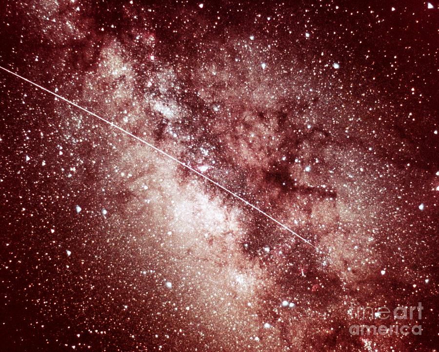 Milky Way Photograph - Milky Way In Sagittarius by Science Source