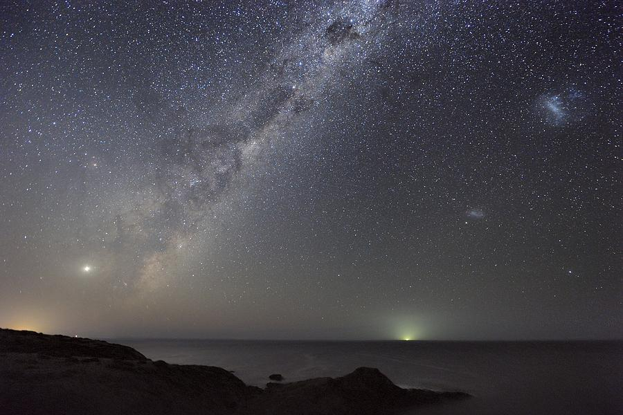 Milky Way Photograph - Milky Way Over Flinders, Australia by Alex Cherney, Terrastro.com