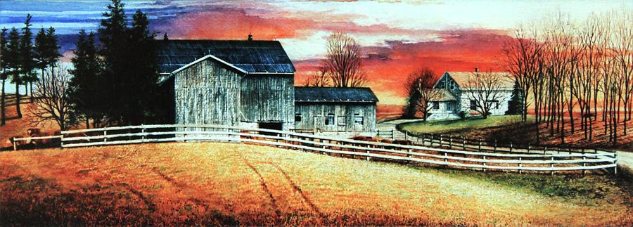 Mill Creek Farm Painting