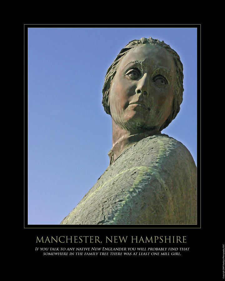 Manchester Photograph - Mill Girl by Jim McDonald Photography