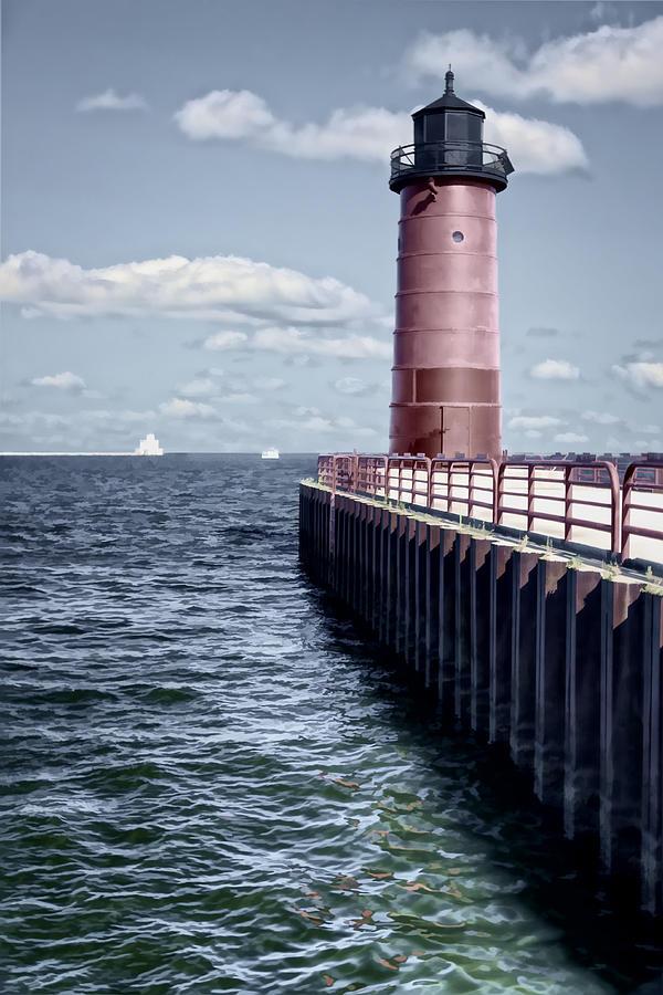 Milwaukee Pierhead Lighthouse Photograph