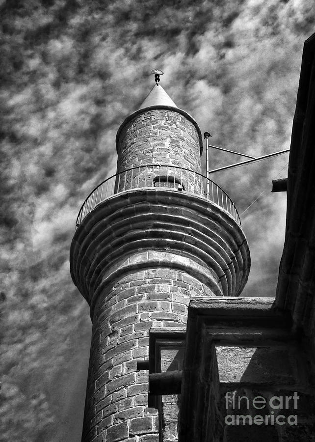 Alone Photograph - Minaret by Stelios Kleanthous