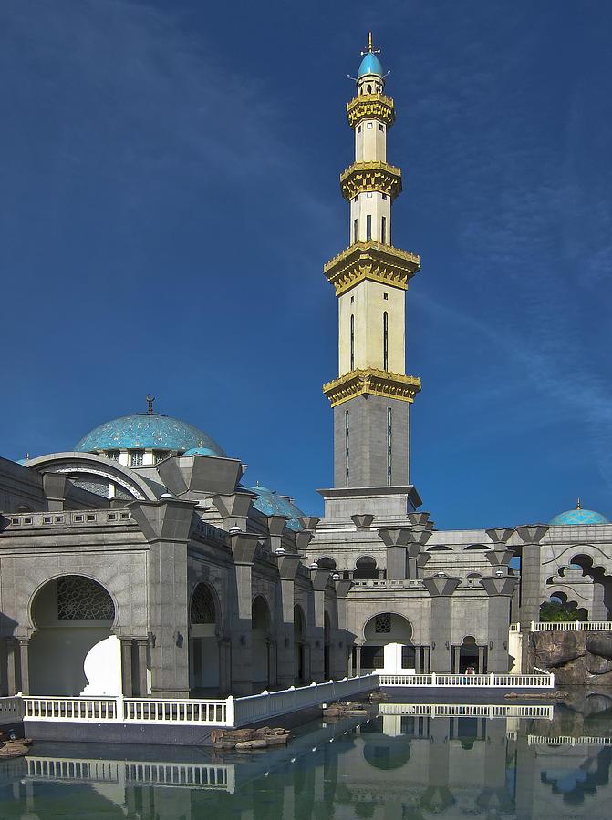 Minaret Tower Masjid Wilayah In Kuala Lumpur Photograph