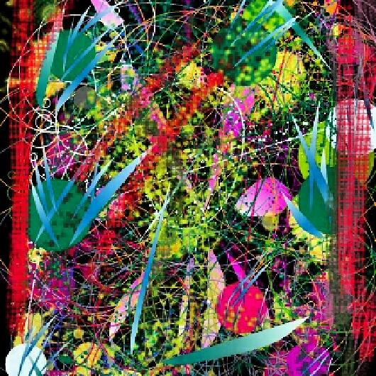 Bright Colors Digital Art - Mind Games by Denisse Del Mar Guevara