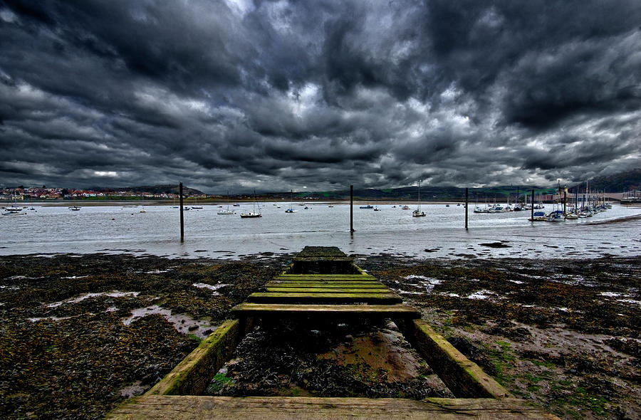 Conway Photograph - Mind The Gap by Meirion Matthias