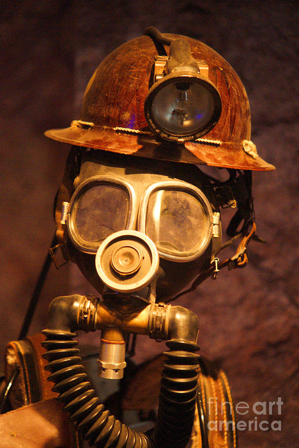 Mining Man Photograph