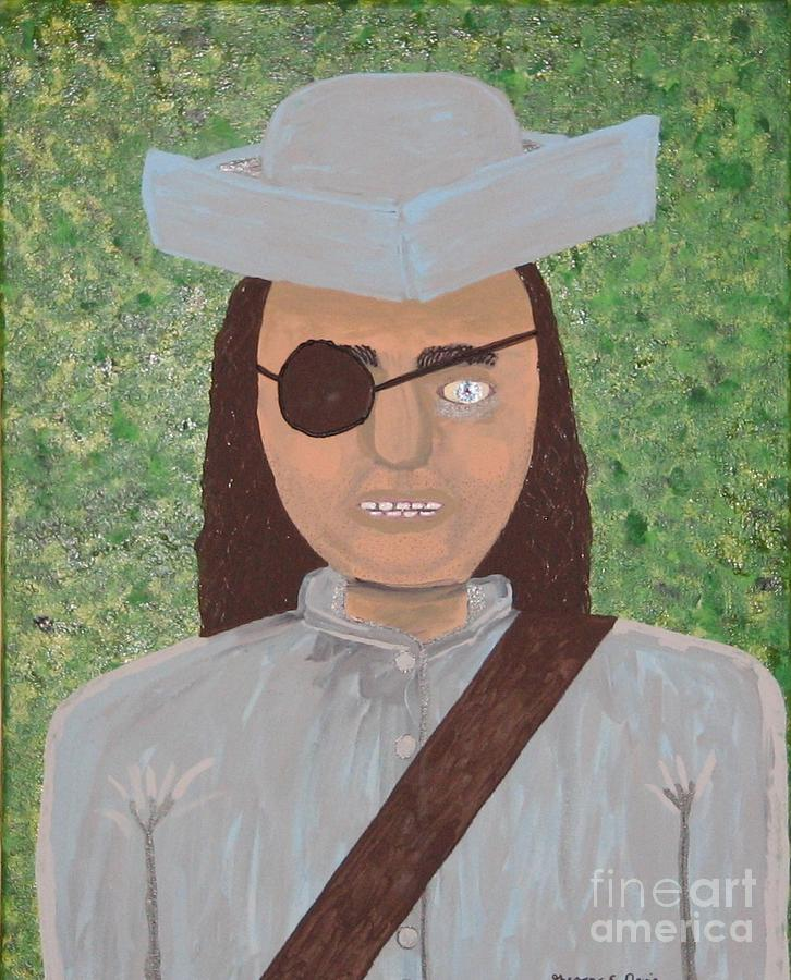 Pirate Painting - Minute Man by Gregory Davis