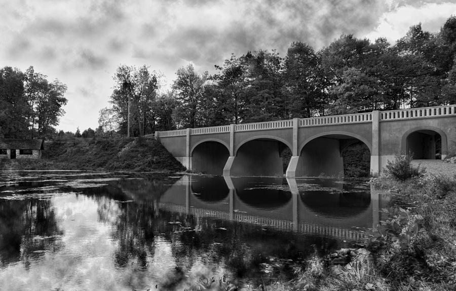 Bridge Photograph - Mirror Bridge by Peter Chilelli