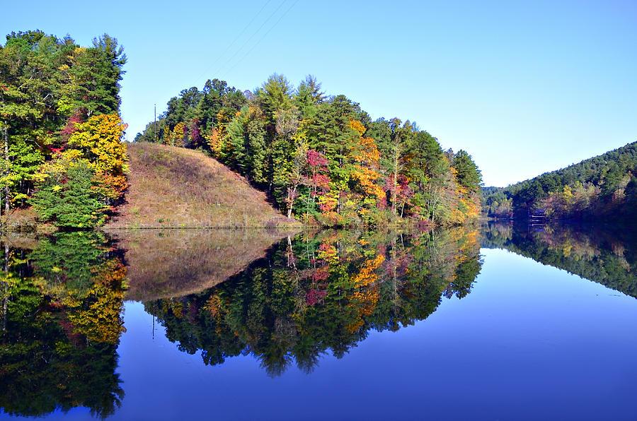 Landscape Photograph - Mirror Image by Susan Leggett