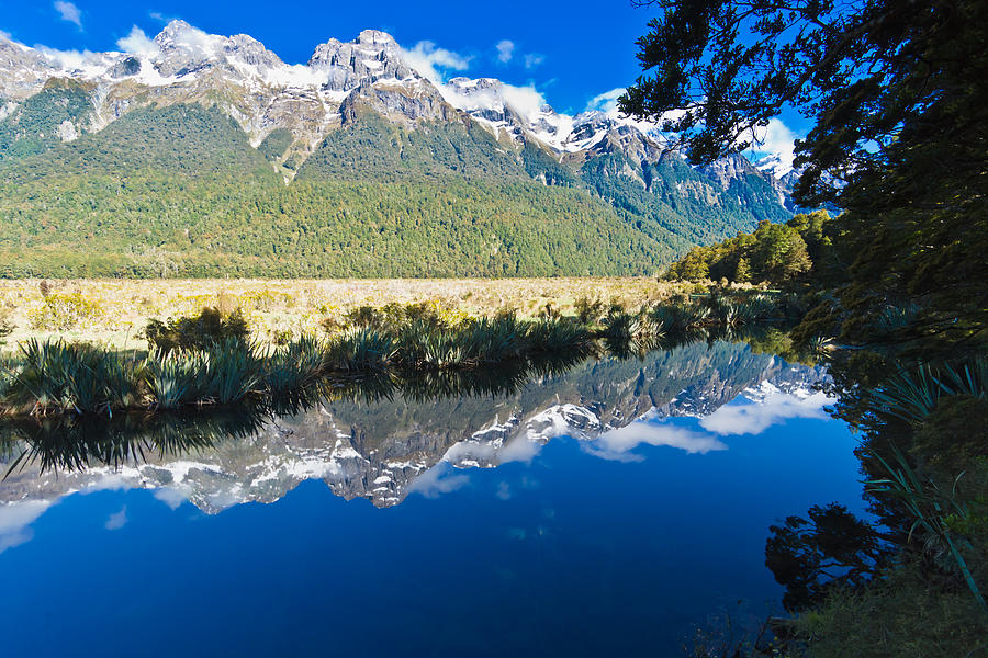 Valley Photograph - Mirror Lakes by Graeme Knox