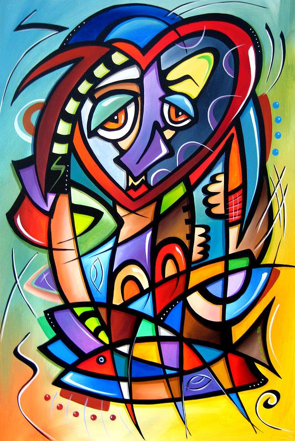 Pop Art Painting - Mirror Mirror by Tom Fedro - Fidostudio