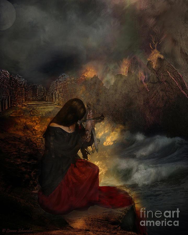 Prayer Digital Art - Miserere by Lianne Schneider