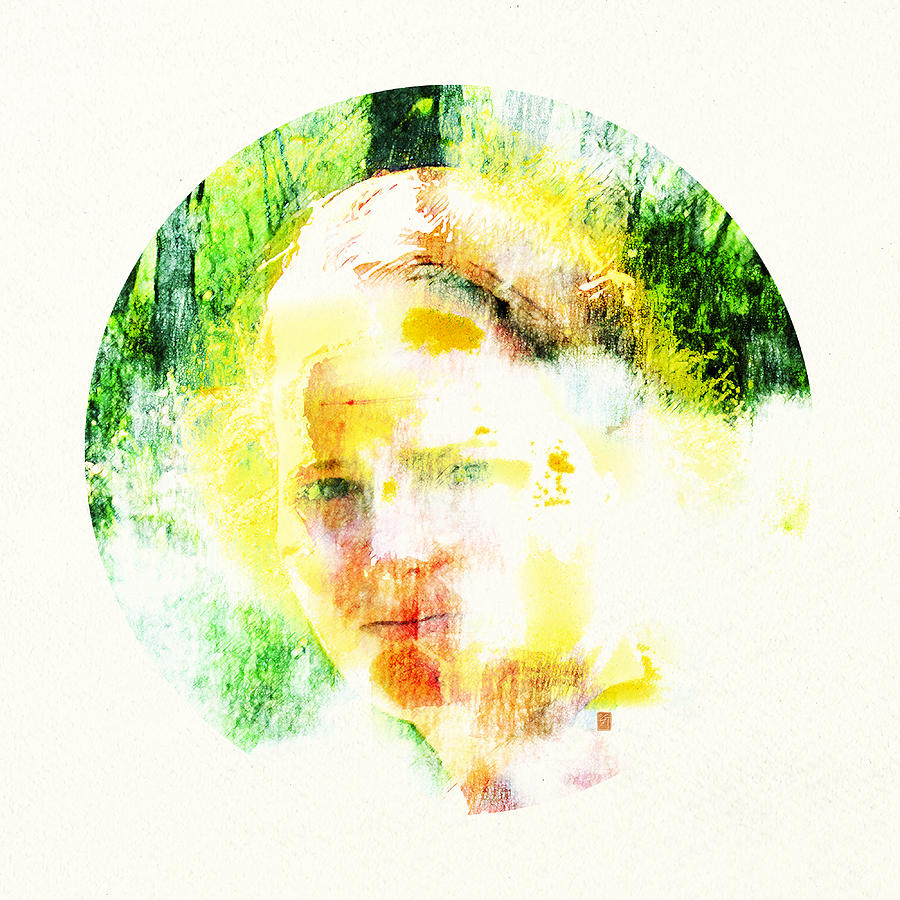 Portrait Digital Art - Miss. Sunshine 2 by Greta Thorsdottir