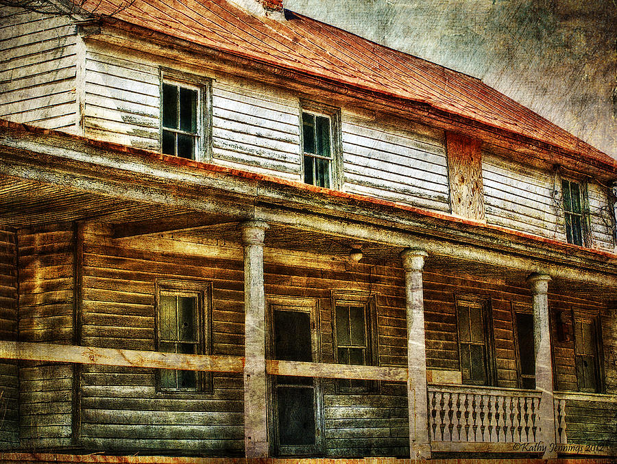 House Photograph - Missing A Window by Kathy Jennings