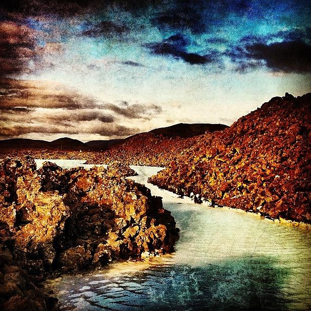 Europe Photograph - Missing Iceland Today. Taken At The by Luke Kingma