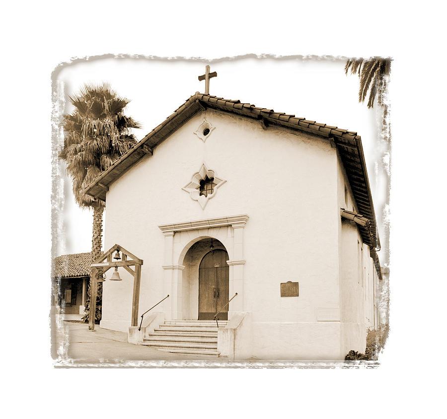 California Missions Digital Art - Mission San Rafael Arcangel - II by Ken Evans