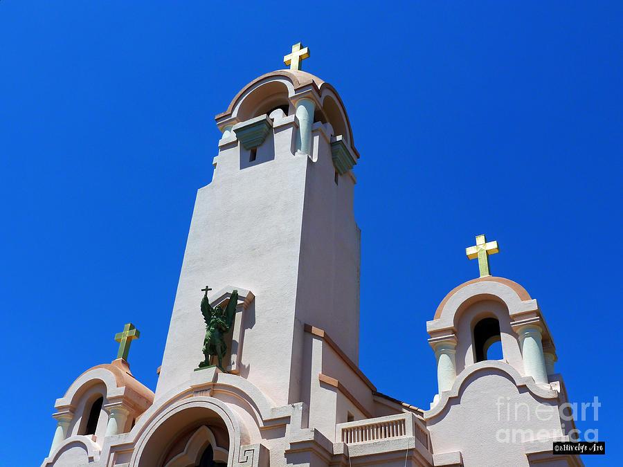 Mission San Rafael Arcangel Photograph - Mission San Rafael Arcangel by Methune Hively