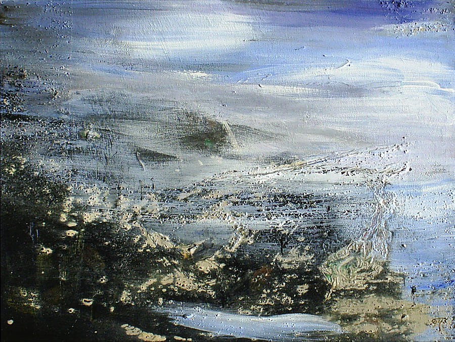Water Painting - Mist On Water by Tanya Byrd