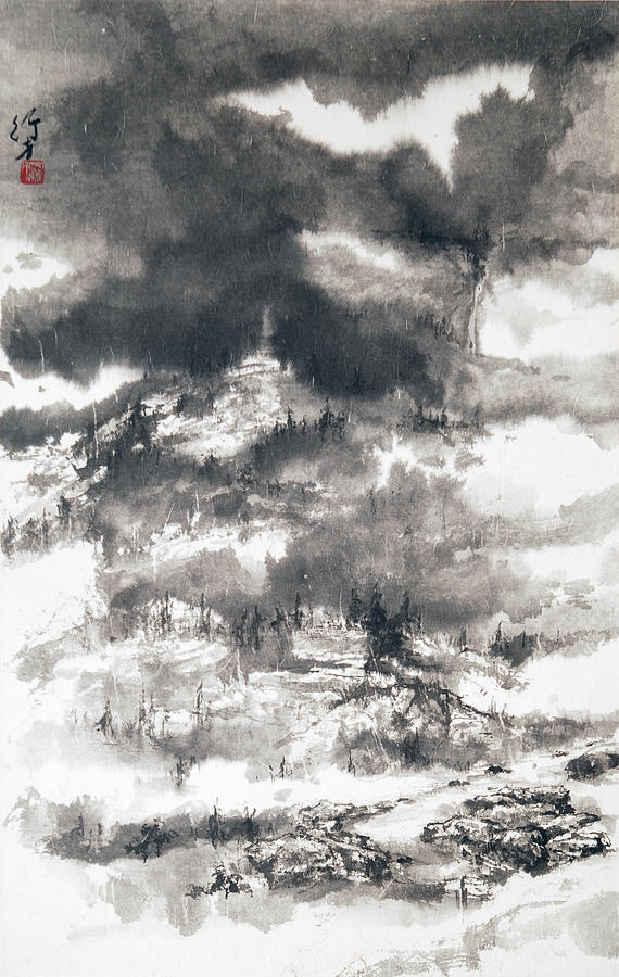 Mistiness Painting by ChiKeung Lo
