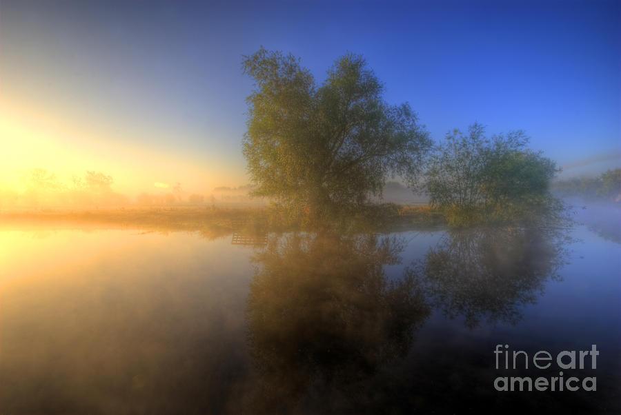 Hdr Photograph - Misty Dawn 1.0 by Yhun Suarez