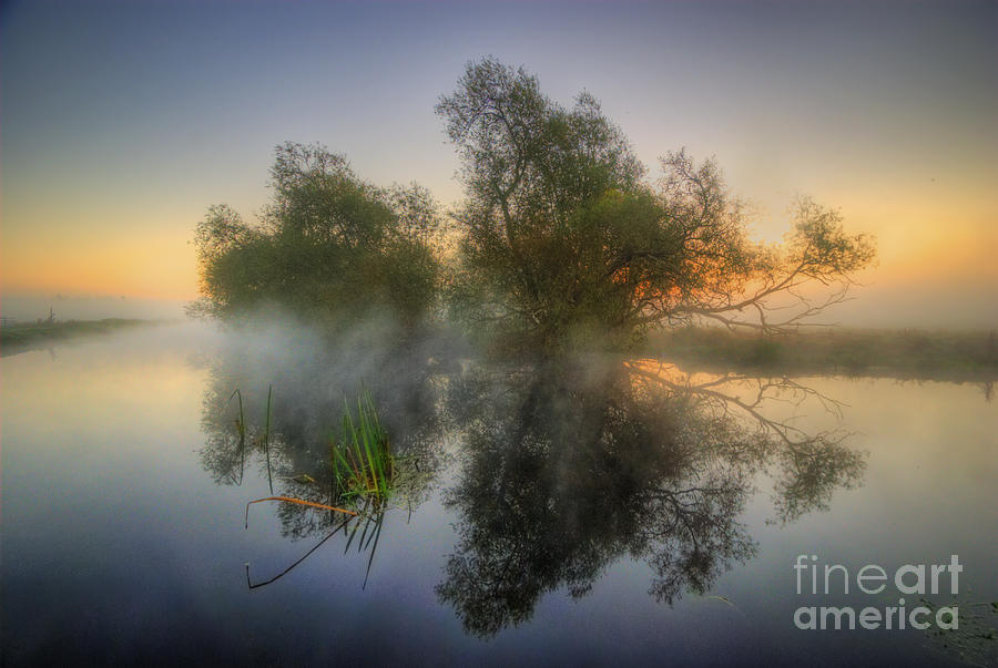 Hdr Photograph - Misty Dawn 2.0 by Yhun Suarez