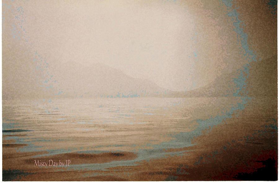 Mist Digital Art - Misty Day by Jean Paul LeBlanc