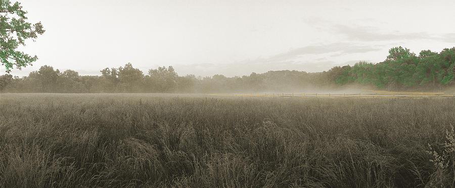 Battlefield Photograph - Misty Grounds by Jan W Faul