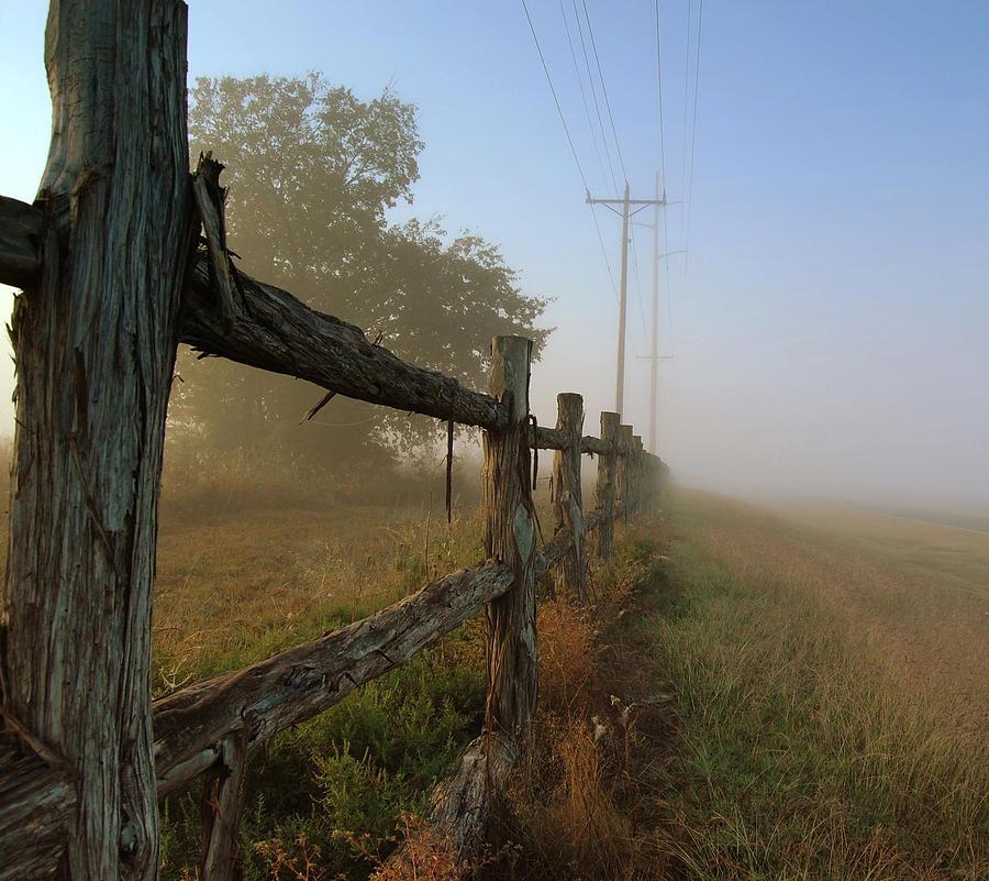 Misty Morning Photograph - Misty Morning by Cindy Rubin