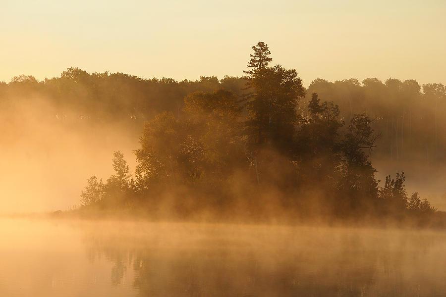 Landscape Photograph - Misty Morning by George Ramondo