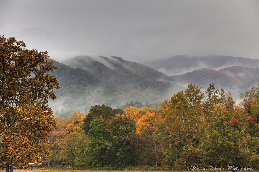Mountains Photograph - Misty Morning Iv by Charles Warren