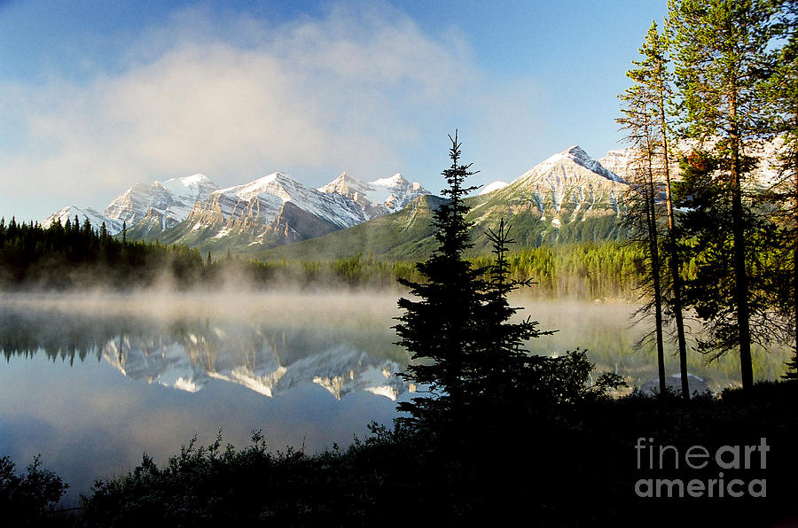 Lake Photograph - Misty Reflections by Frank Townsley