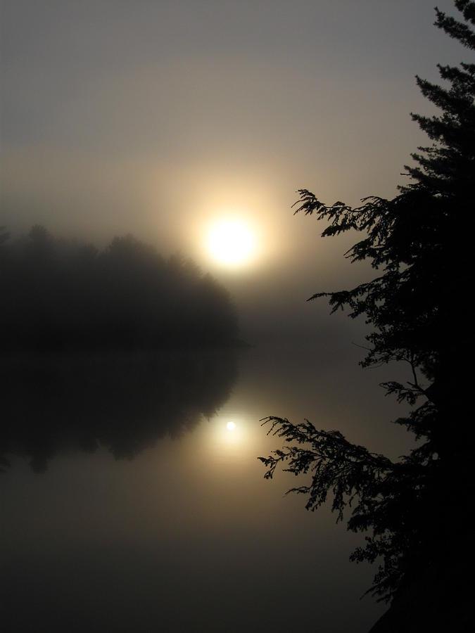 Sunrise Photograph - Misty Sunrise by Waldemar Okon