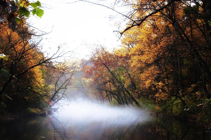 Misty Wissahickon Photograph - Misty Wissahickon by Bill Cannon