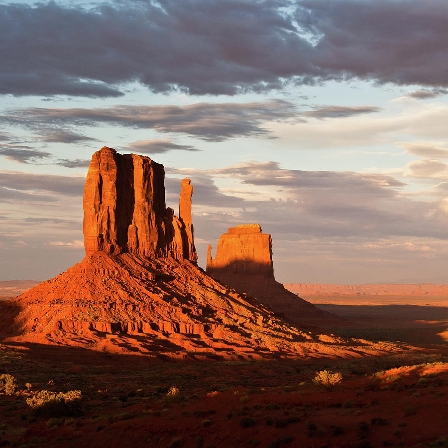 Mittens Of Monument Valley Photograph By Photo By P Folrev