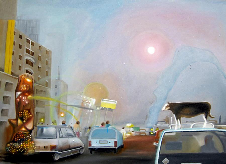 Modern Painting - Modendaities by Leonard Aitken