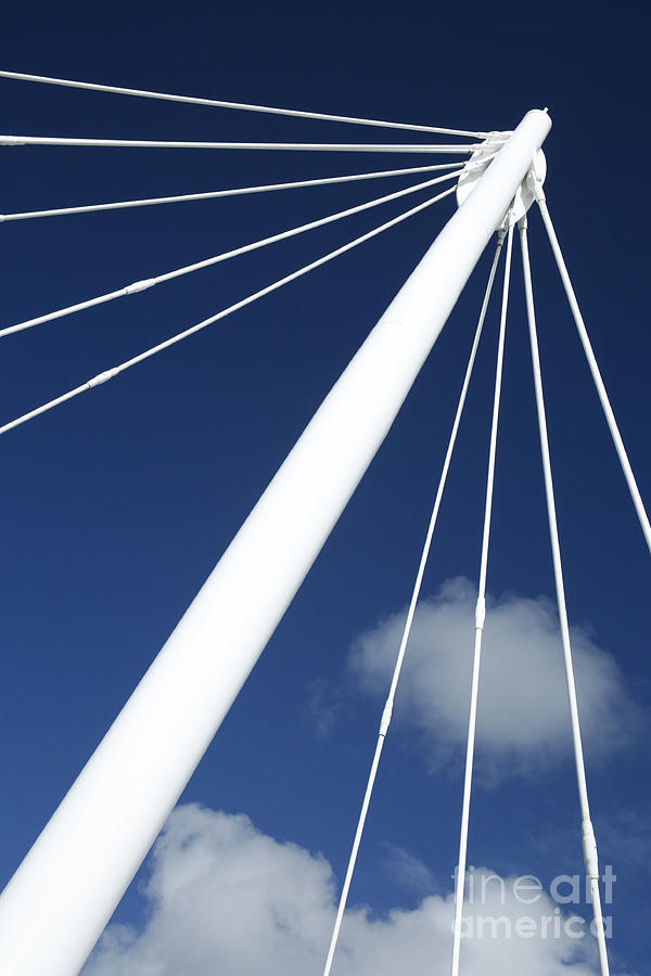 Structure Photograph - Modern Abstract Structure by Gaspar Avila
