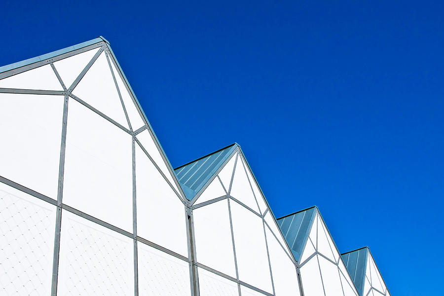Architecture Photograph - Modern Architecture by Tom Gowanlock