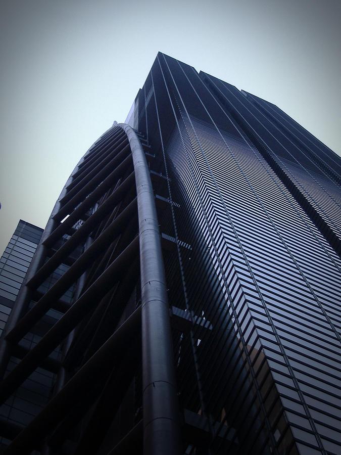 Tokyo Photograph - Modern Building In Tokyo by Naxart Studio