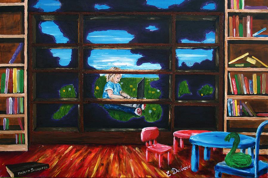 Computer Painting - Modern Innocence by Elisabeth Dubois