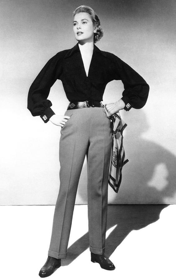 1950s Fashion Photograph - Mogambo, Grace Kelly, 1953 by Everett