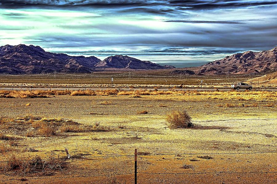 Desert Photograph - Mojave Desert by Andre Salvador