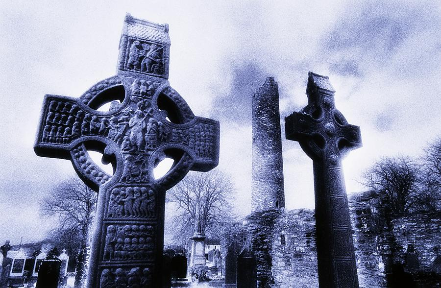 Archeology Photograph - Monasterboice, Co Louth, Ireland by The Irish Image Collection