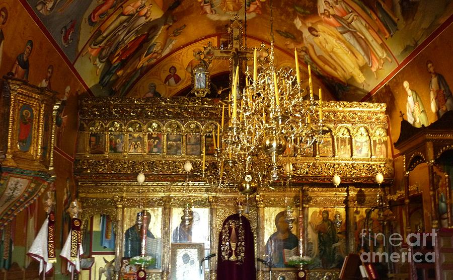 Monastery Of St John The Theologian Photograph by Therese ...