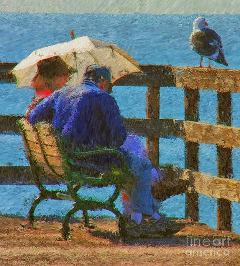 Impressionist Photograph - Monet Moment by Tom Griffithe