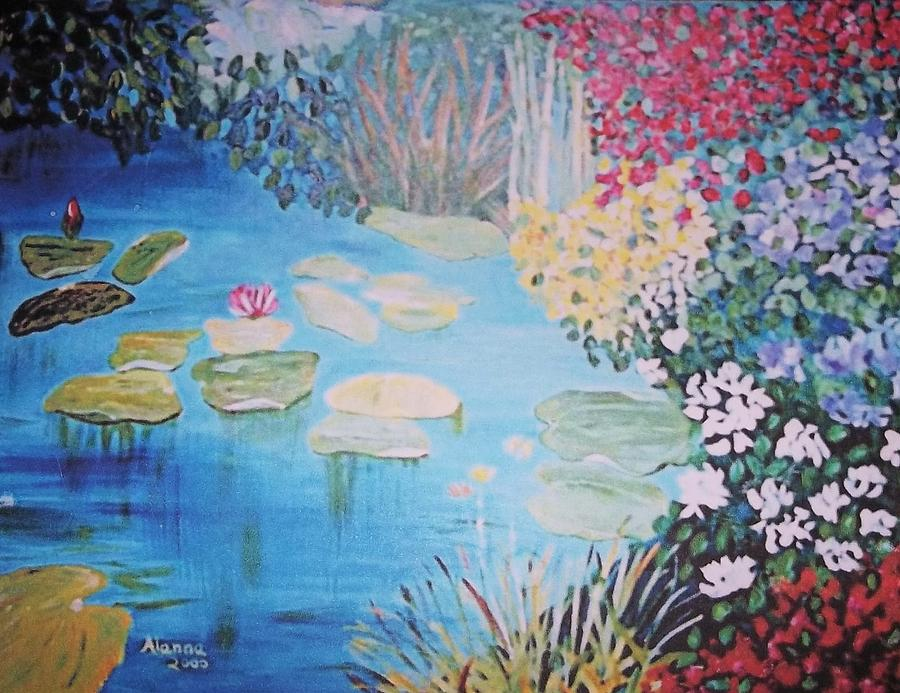 Nature Painting - Monet Style By Alanna by Alanna Hug-McAnnally