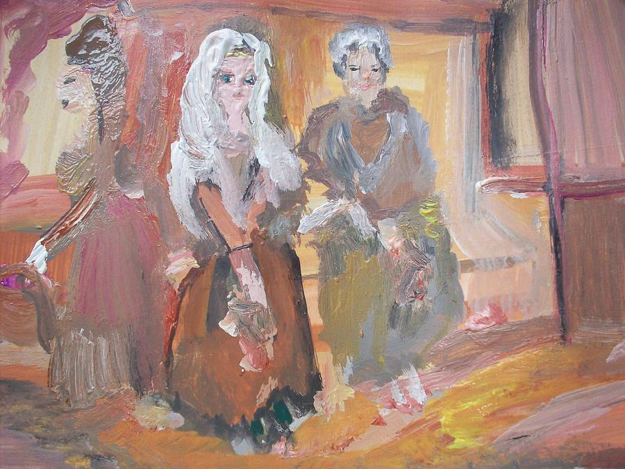 Workhouse Painting - Money For Old Rope by Judith Desrosiers