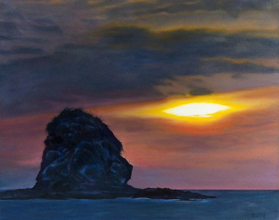 Seascape Painting - Monkey Head Island by Pamela Bell