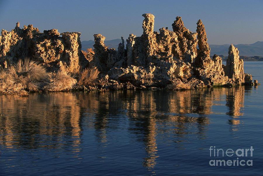 Sandra Bronstein Photograph - Mono Lake Tufa by Sandra Bronstein